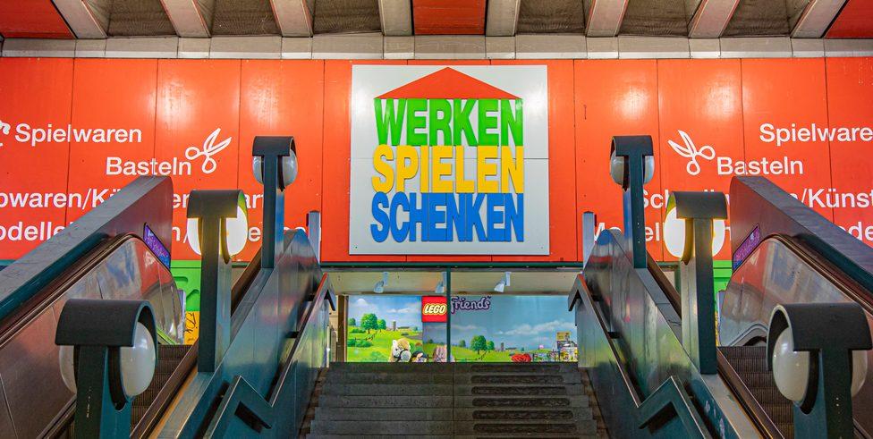Eingangsbereich Werken Spielen Schenken Berlin Steglitz